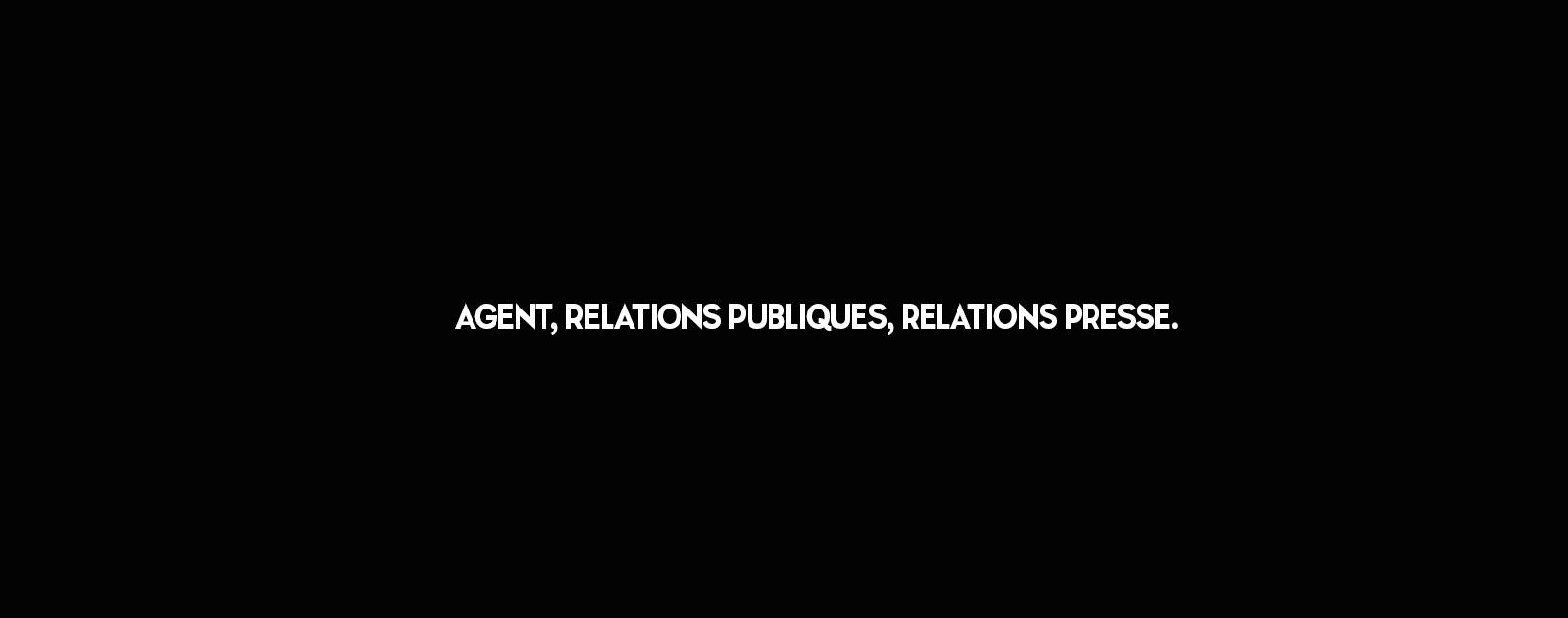 Agent, Relations Publiques, Relations Presse